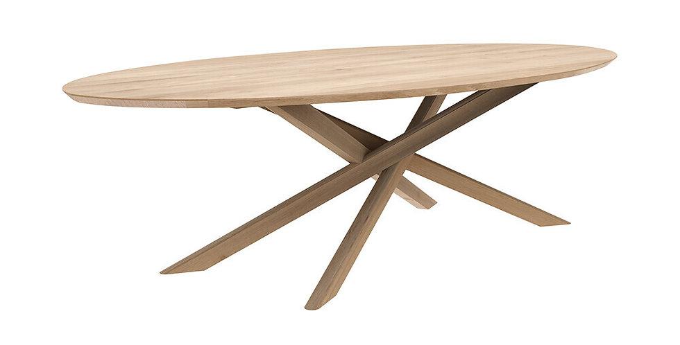 Table Ethnicraft - Mikado (ovale)