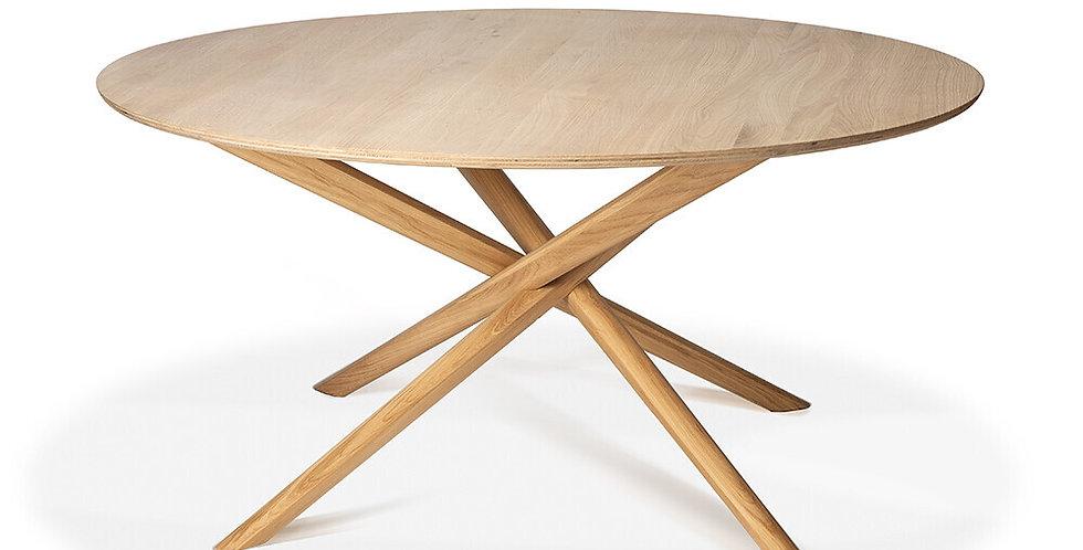 Table Ethnicraft - Mikado (ronde)
