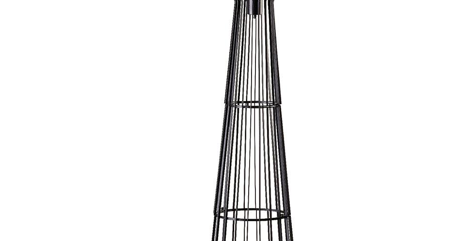 Lampe sur pied en métal Steve Curvy