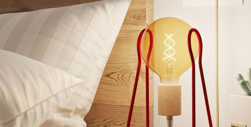 Lampe de table (Créative Cable)