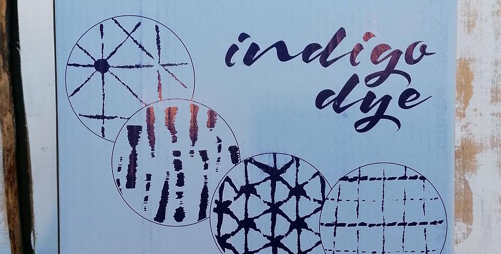 "Service ""Indigo Dye""  12 pièces"