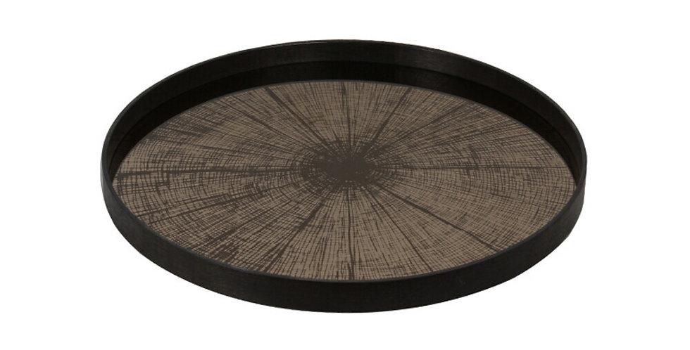 Notre Monde Plateau Bronze Slice mirror L