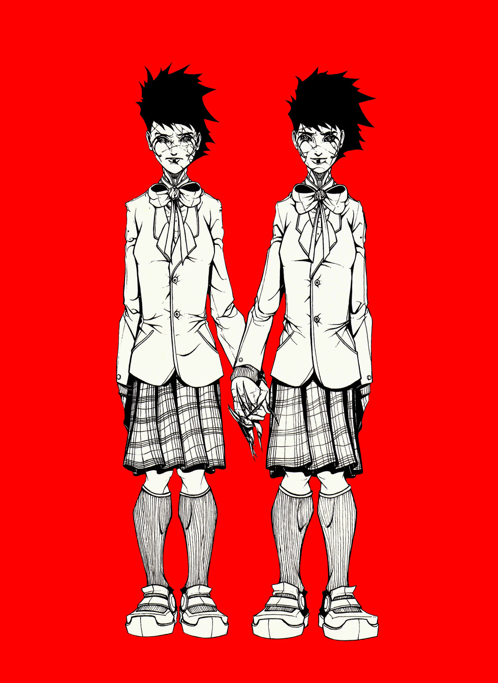THE SCHOOL GIRLS PROMO DESIGN