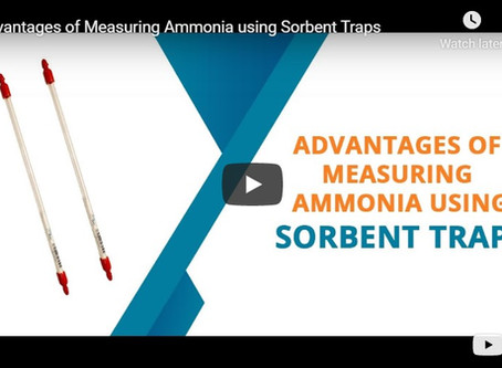 Advantages of Measuring Ammonia using Sorbent Traps