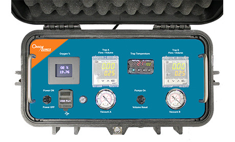 OLM30B Sampling System Console Control Panel