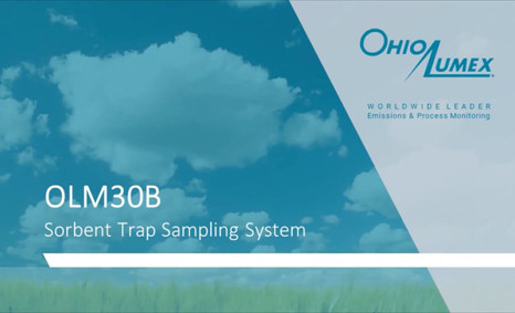 Overview of OLM30B Sorbent Trap Sampling System