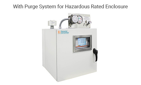 Siloxane Monitoring System With Purge System for Hazardous Rated Enclosure
