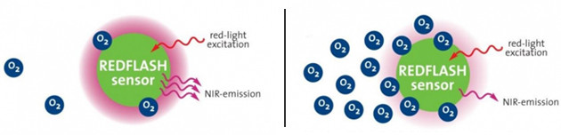 optical sensor redflash technology graphic