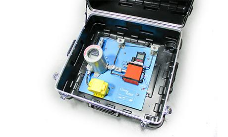 Natural Gas Sorbent Trap Sampling System in Case