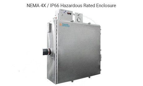 Compact Emissions Monitoring System Hazardous Enclosure