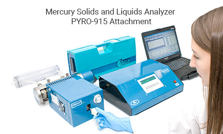 Mercury Solids and Liquids Analyzer PYRO-915 Attachment for RA-915M