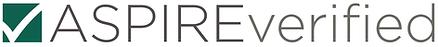 ASPIRE verified logo.