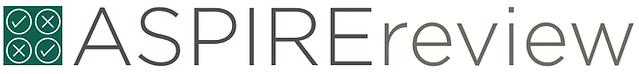 The ASPIRE review logo.