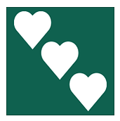The ASPIRe community logo features 3 white hearts against a green background.