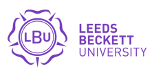 The Leeds Beckett University logo.