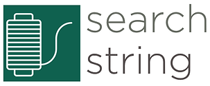 An icon of a string reel representing a search string