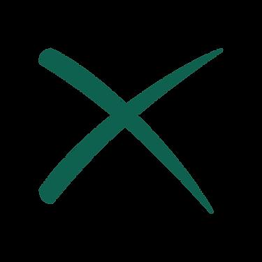 The searchBOX exchange X logo.