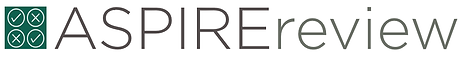 ASPIRE review logo.