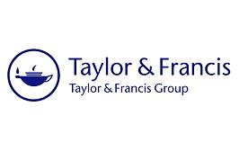 The Taylor and Francis logo.