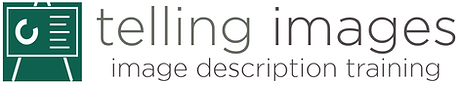 The Telling Images logo.
