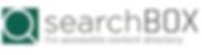 The searchBOX logo.