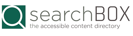 The searchBOX logo. Click to visit page.