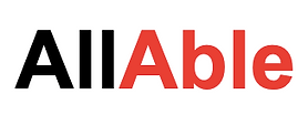 The AllAble logo.