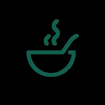 A bowl of goulash icon.