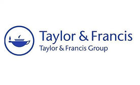 The Taylor and Francis logo.