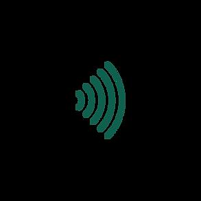 An echo icon representing searchBOX reach.
