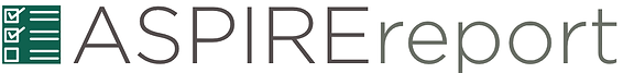 ASPIRE report logo.