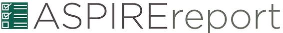 ASPIRE report logo.