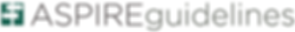 ASPIRE guidelines logo.