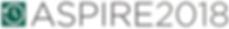 ASPIRE 2018 logo.