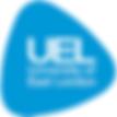 University of East London logo.