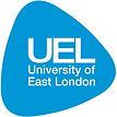University of East London logo.