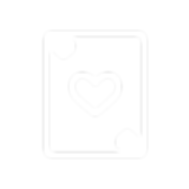 Ace of hearts icon.