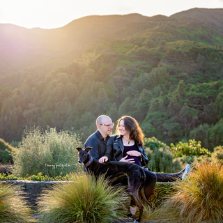 Outdoor maternity session Wellingon New Zealand