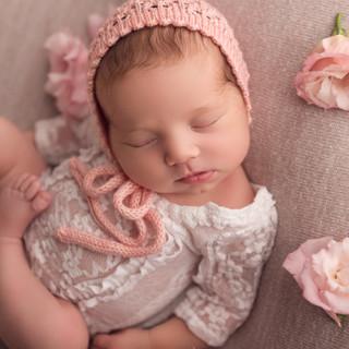 baby girl in pink tawa wellington