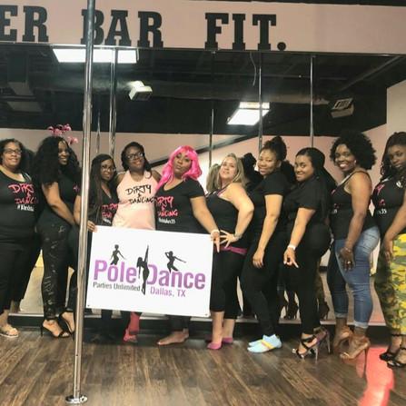 Curvy Women Pole Parties Dallas