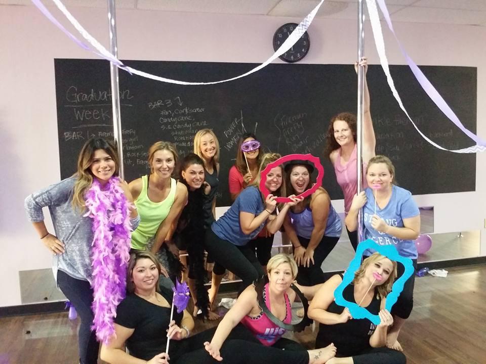 pole dance party for a friends birthday in Arlington, Texas