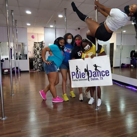 DFW Pole Dancing Party