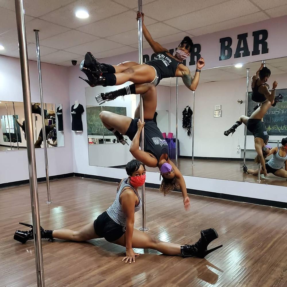 Arlington pole dancing