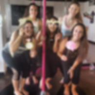 Fort Worth Pole Dancing Party for a Weekend Bachelorette Pary