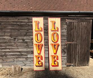 Handpainted Love Signs.jpg