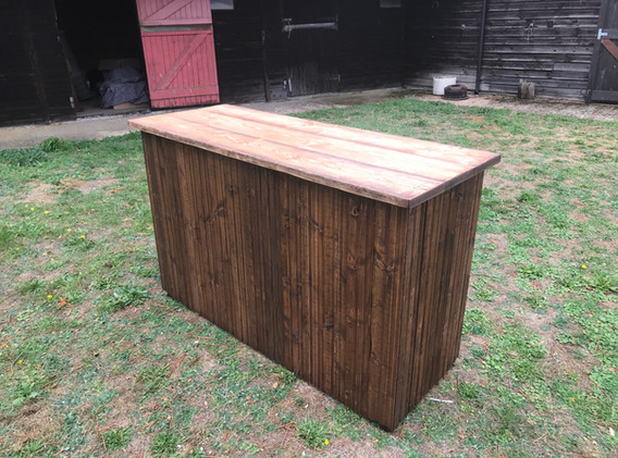 Rustic Bar for Hire 3