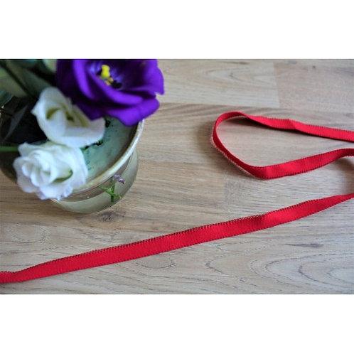 Elastique Picots rouge