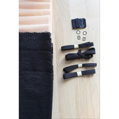 Kit dentelle noire