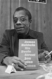 Schrijver_James_Baldwin_presenteert_nieu