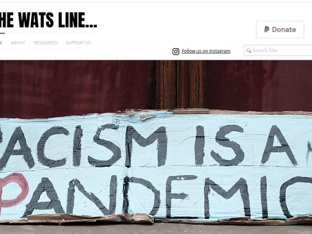 The WATS Line Website Creation - Fighting Racism with Education